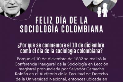 Diciembre 10. Día de la Sociología Colombiana